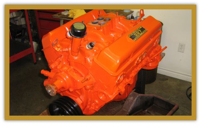 bright orange engine block 2